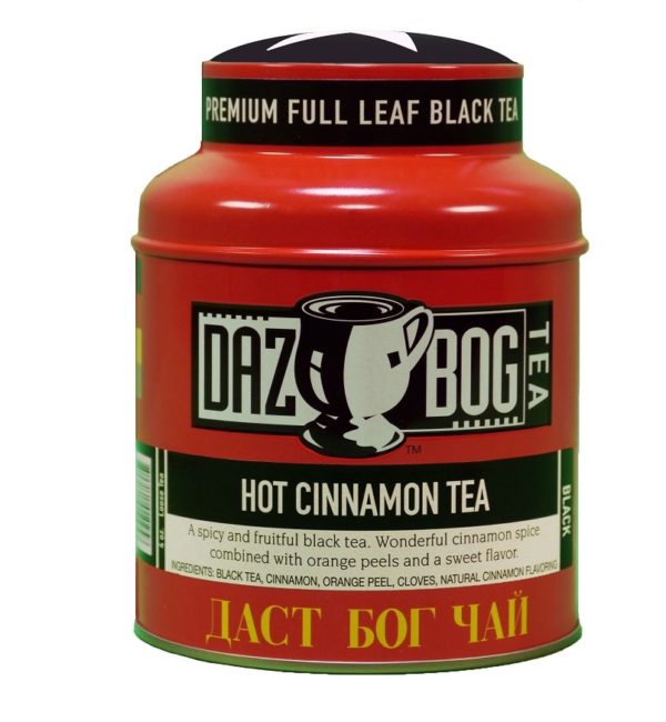 Hot Cinnamon Black Tea