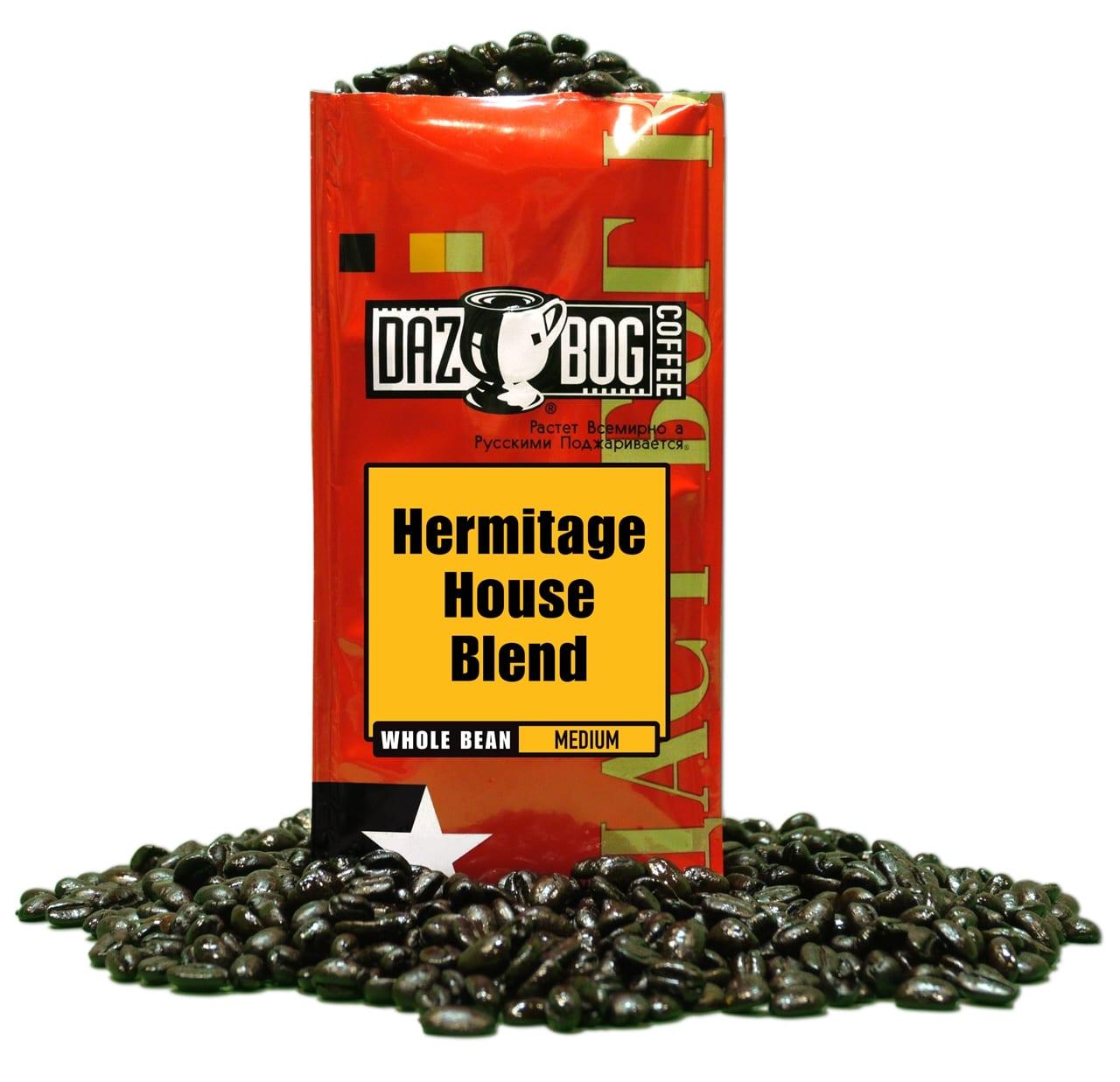Hermitage house blend dazbog coffee for Hermitage house