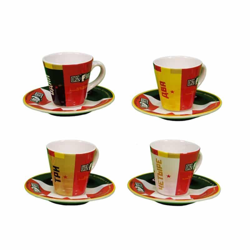 Dazbog Espresso Cup Set - Dazbog Coffee